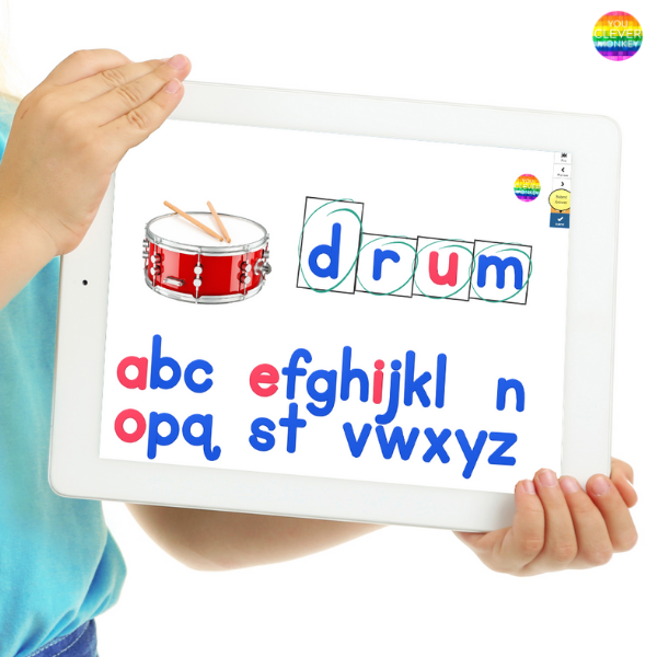 Digital Spelling CCVC BOOM Cards Pack