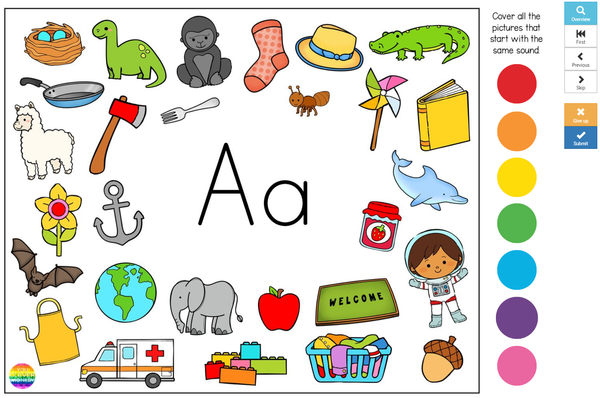 Digital Initial Sound Alphabet BOOM Cards