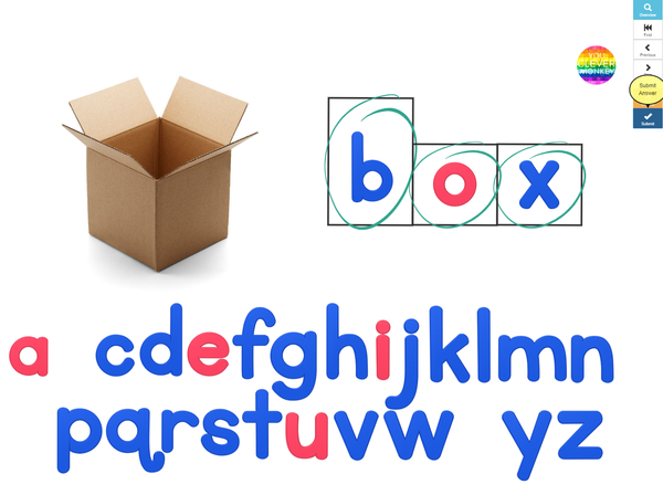 Digital Spelling CVC BOOM Cards Pack