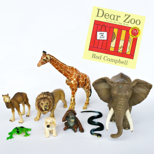 'Dear Zoo' Activity Pack