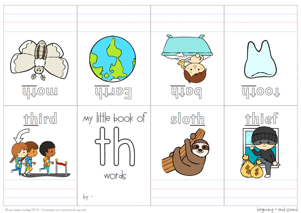 Digraph Activities Pack - CH SH TH