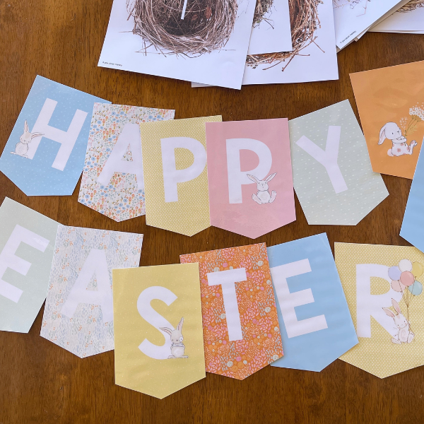 Editable Easter Bunting Pack for Classroom Display | you clever monkey