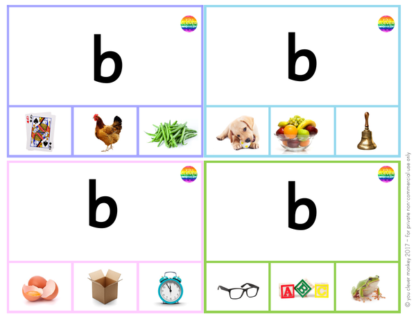 Beginning Letter Sound BUNDLE