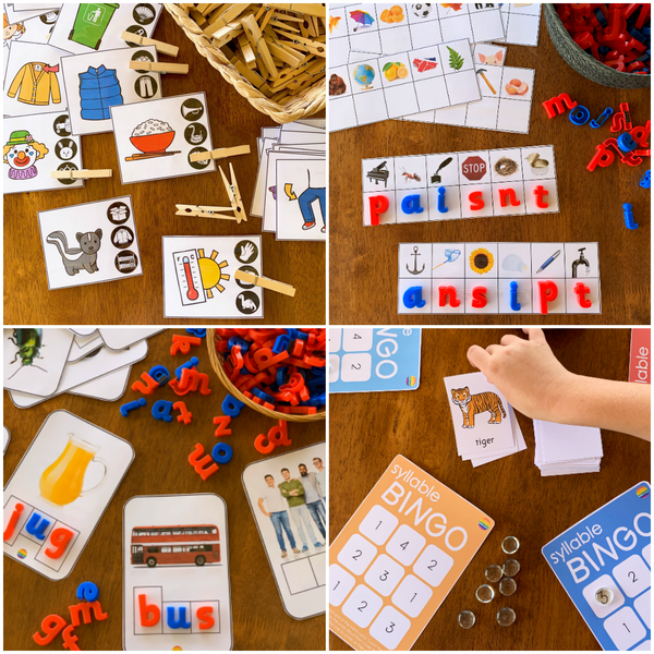 Phonological Awareness Bundle 2 - Intermediate