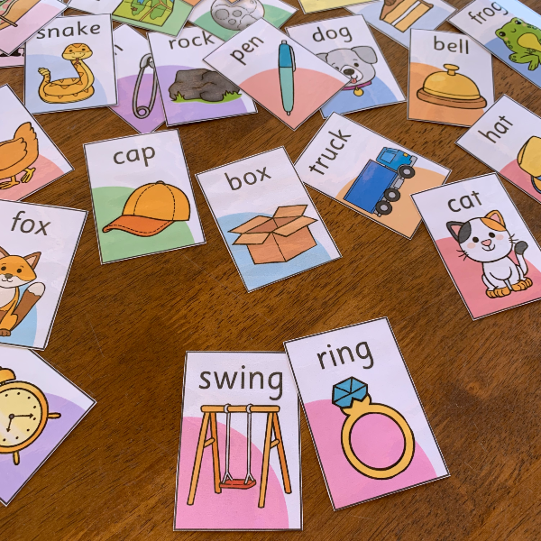 Pick A Partner - Rhyming Word Pack