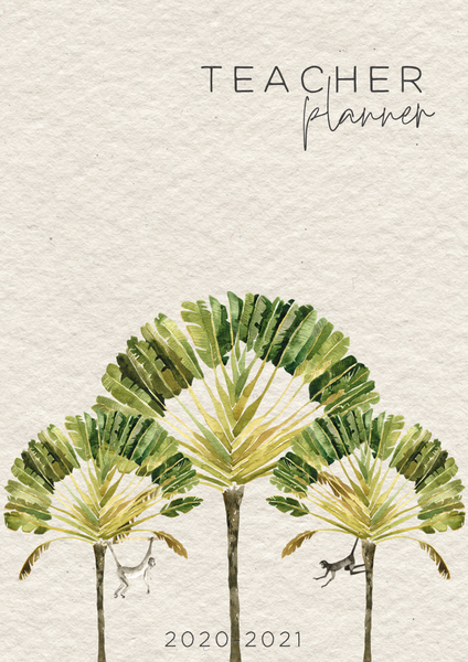 WILD TROPICS Binders + Book Covers Pack