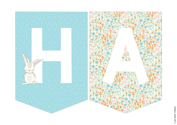 Easter Bunting Pack