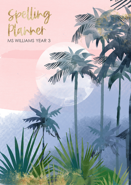 TROPICAL COAST Binder + Book Covers Pack