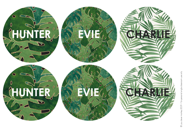 TROPICAL COAST Classroom Decor Pack - BUNDLE