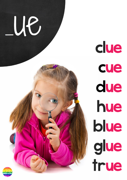 Word Family Posters - Long Vowel Sounds