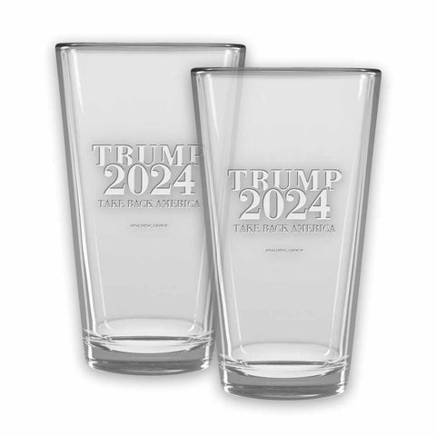 Trump 2024 Micro-Brew Glasses (set of 2)