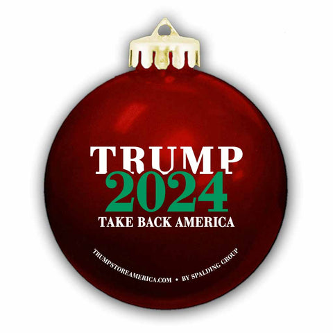 Trump 2024 Ornament