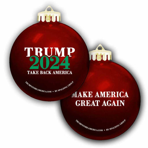 Trump Ornament - 2-pack