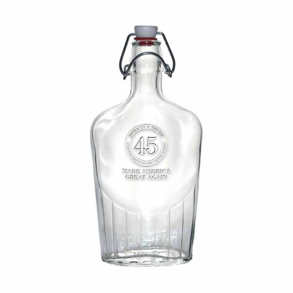 Trump 45 Flask (personalization option)