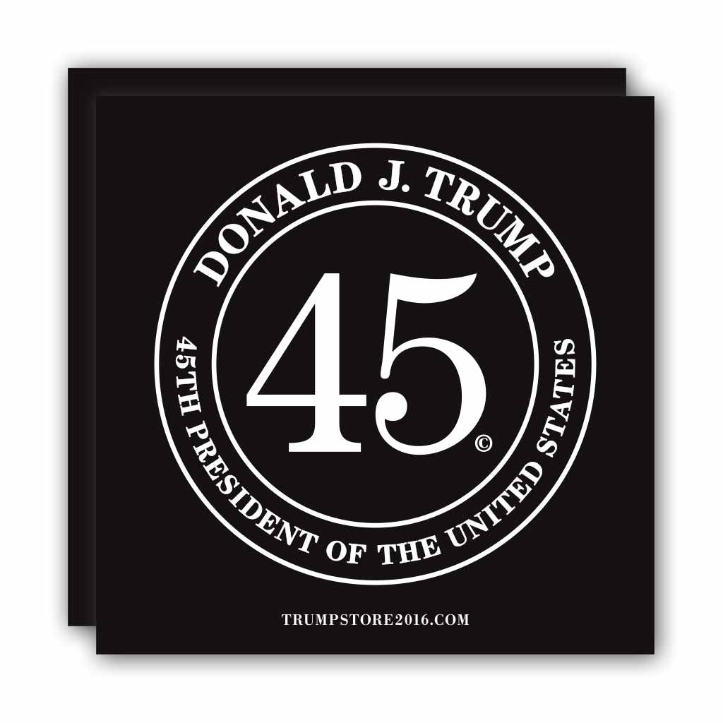 Trump Bumper Sticker Quot Donald Trump 45th President