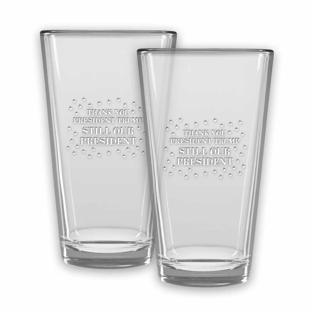 Thank You Pint Glasses (set of 2)