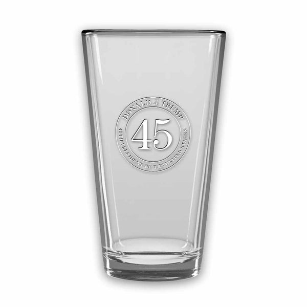 Trump 45 Micro-Brew Glasses (set of 2) (personalization option)