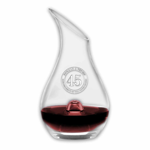 Trump 45 Essence Wine Decanter (personalization option)