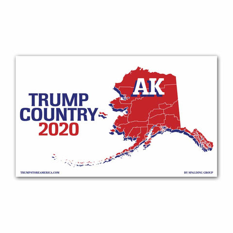 Alaska is Trump Country 2020 - Vinyl 5' x 3' Banner