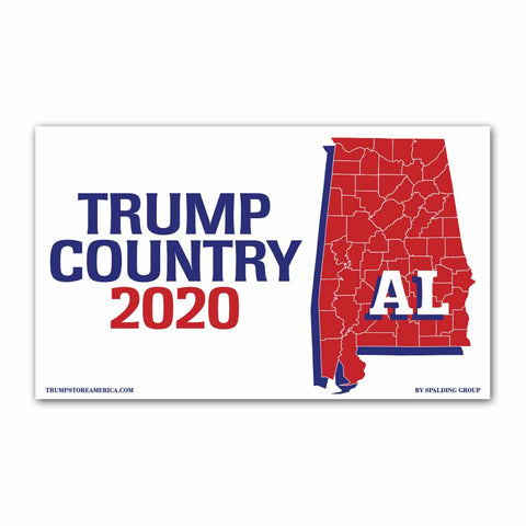 Alabama is Trump Country 2020 - Vinyl 5' x 3' Banner
