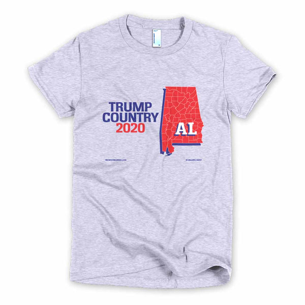 Alabama is Trump Country Women's Slim Fit T-shirt