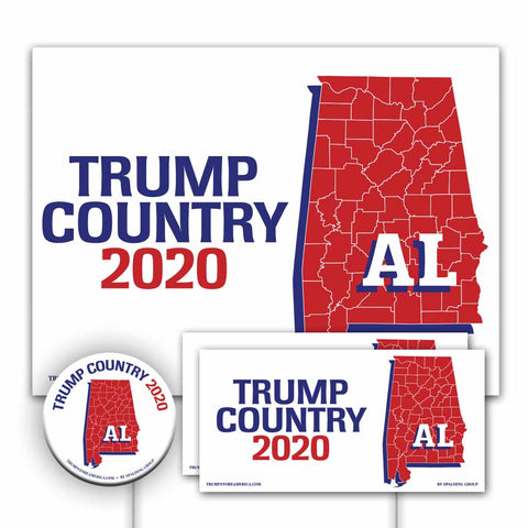 Alabama is Trump Country Yard Sign Kit