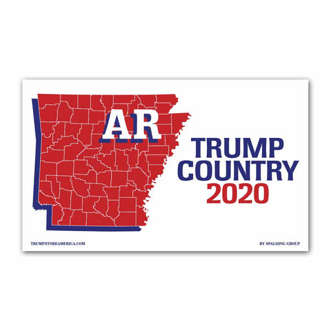 Arkansas is Trump Country 2020 - Vinyl 5' x 3' Banner