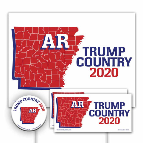 Arkansas is Trump Country Yard Sign Kit