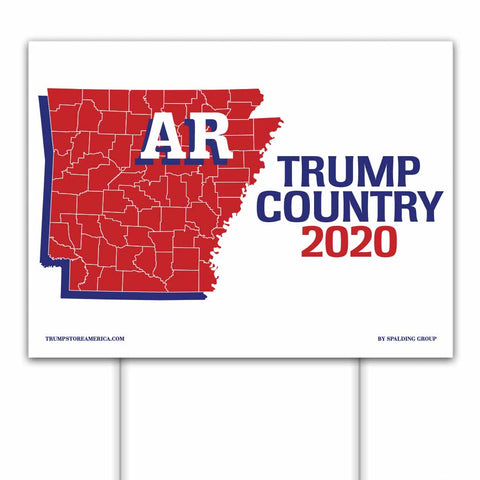 Arkansas is Trump Country 2020 – Yard/Rally Sign