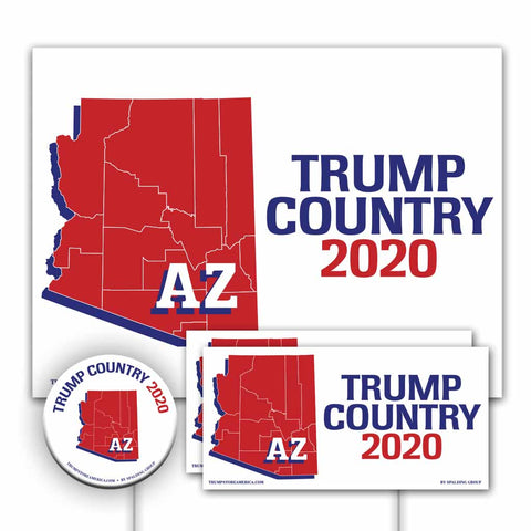 Arizona is Trump Country Yard Sign Kit