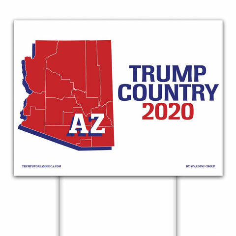 Arizona is Trump Country 2020 – Yard/Rally Sign