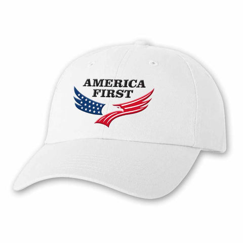 America First Cap - White
