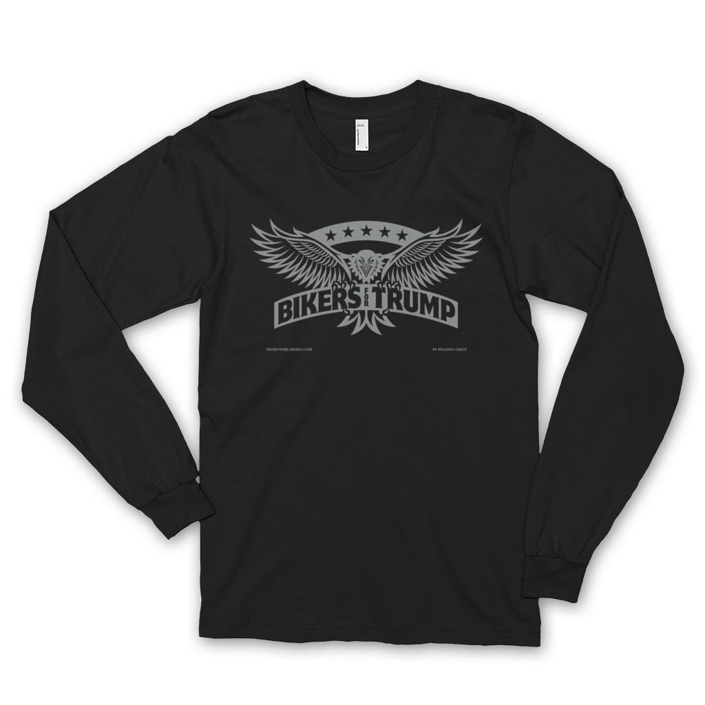 Bikers for Trump Long Sleeve T-shirt