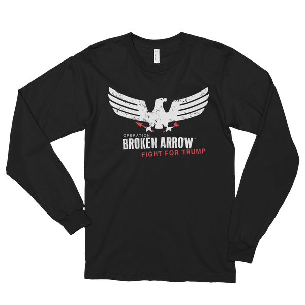 "Trump Long Sleeve T-Shirt - ""Broken Arrow"""