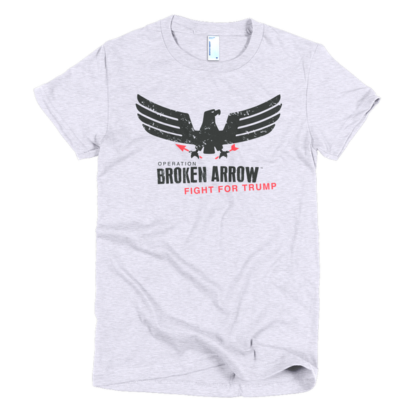 "Trump Women's T-Shirt - ""Broken Arrow"""