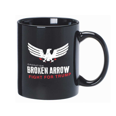 "Trump Mug - ""Broken Arrow"""