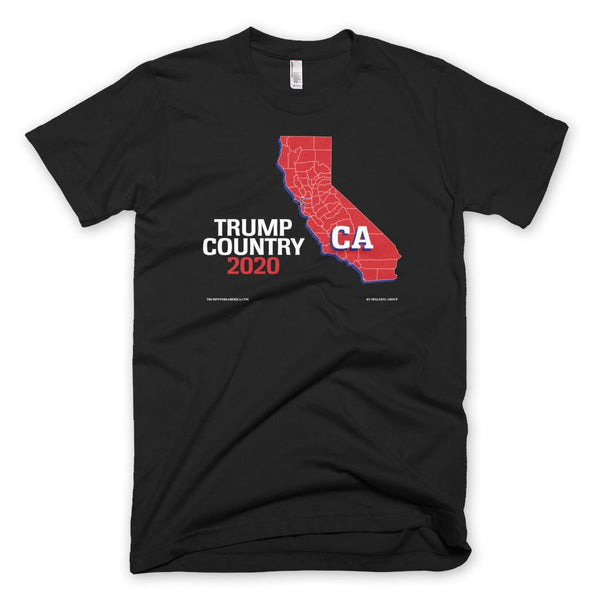 California is Trump Country T-shirt