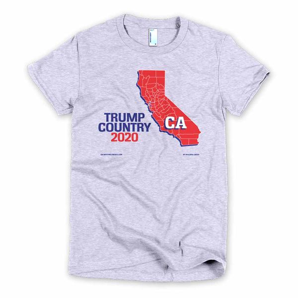 California is Trump Country Women's Slim Fit T-shirt