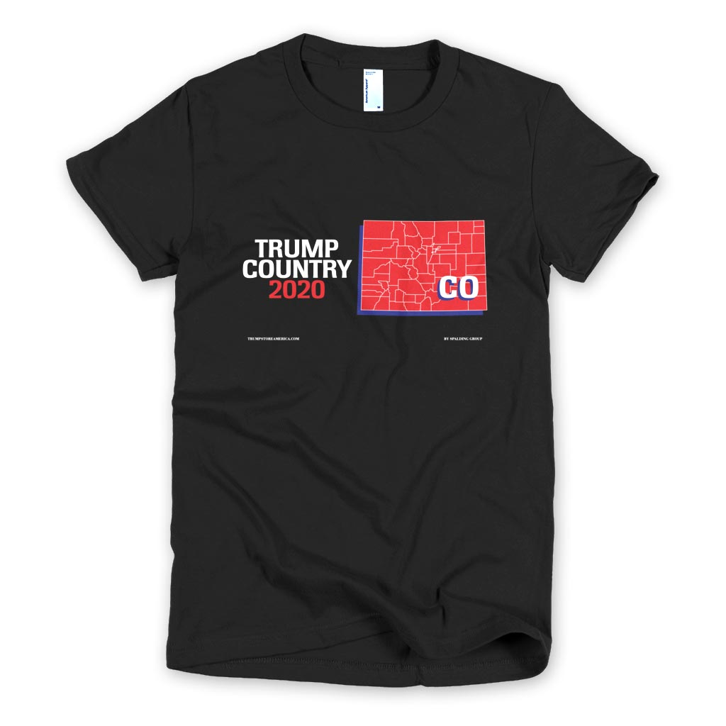 Colorado is Trump Country Women's Slim Fit T-shirt