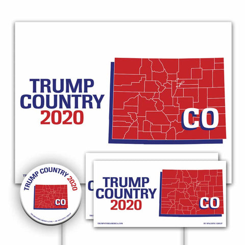 Colorado is Trump Country Yard Sign Kit