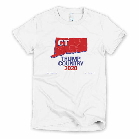 Connecticut is Trump Country Women's Slim Fit T-shirt