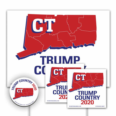 Connecticut is Trump Country Yard Sign Kit