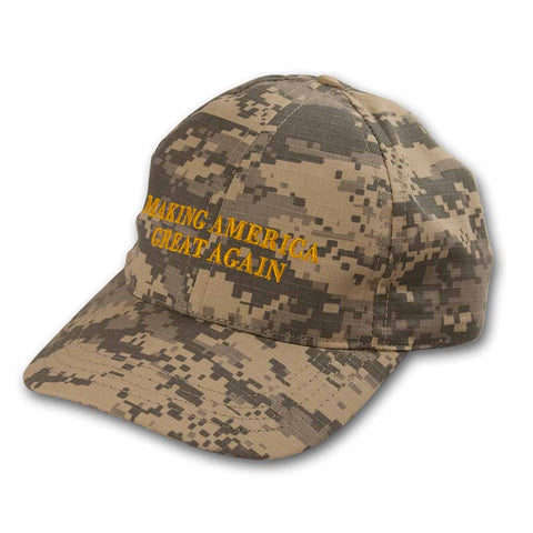 "Trump Hat - Camo ""Making America Great Again"""