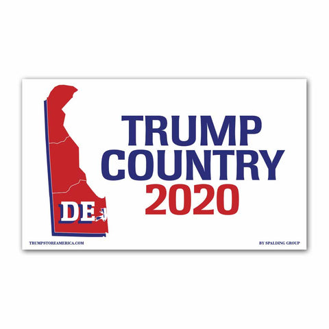 Delaware is Trump Country 2020 - Vinyl 5' x 3' Banner