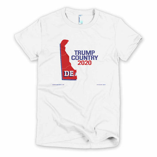 Delaware is Trump Country Women's Slim Fit T-shirt