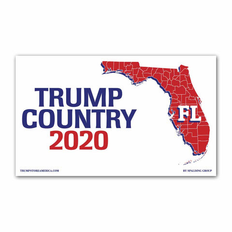 Florida is Trump Country 2020 - Vinyl 5' x 3' Banner