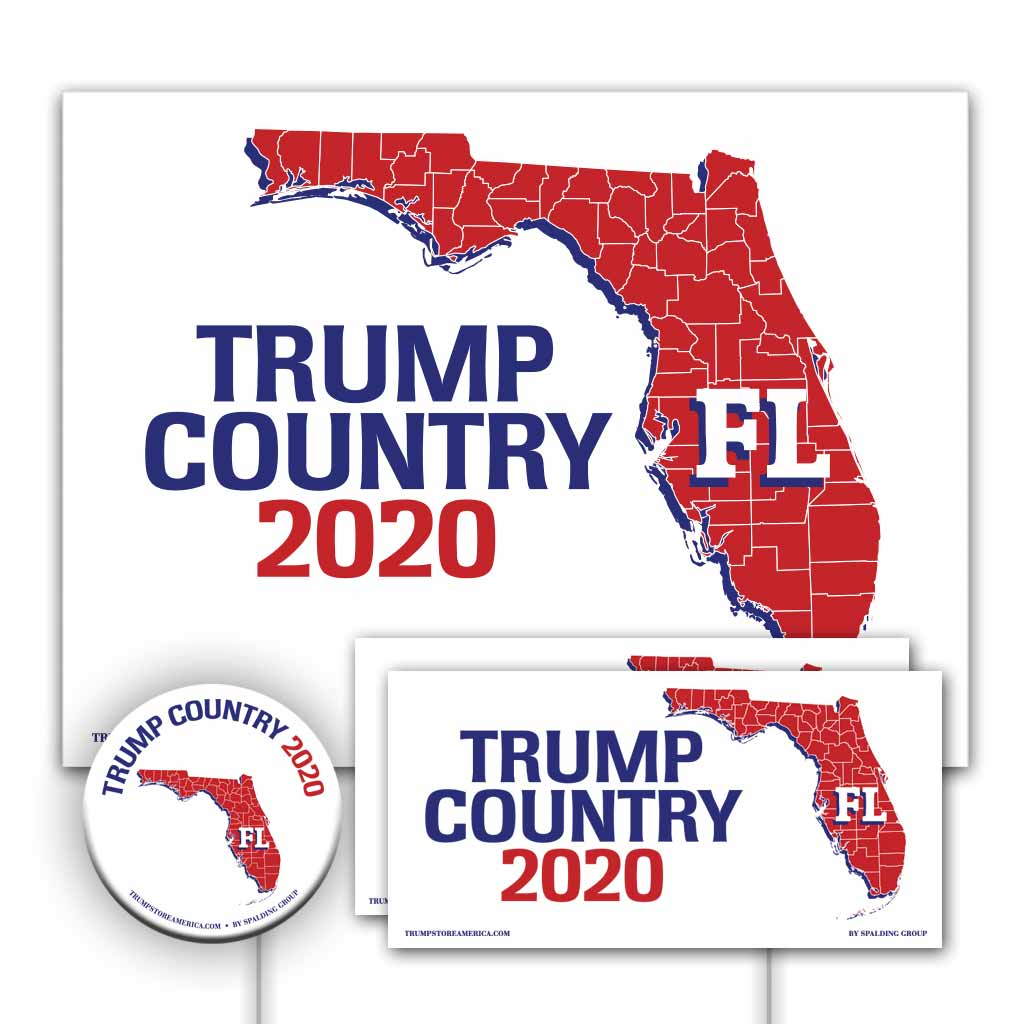 Florida is Trump Country Yard Sign Kit
