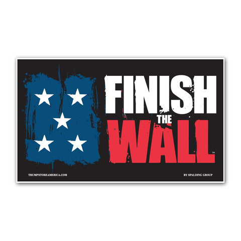 Finish The Wall Vinyl 5' x 3' Banner