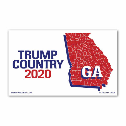 Georgia is Trump Country 2020 - Vinyl 5' x 3' Banner