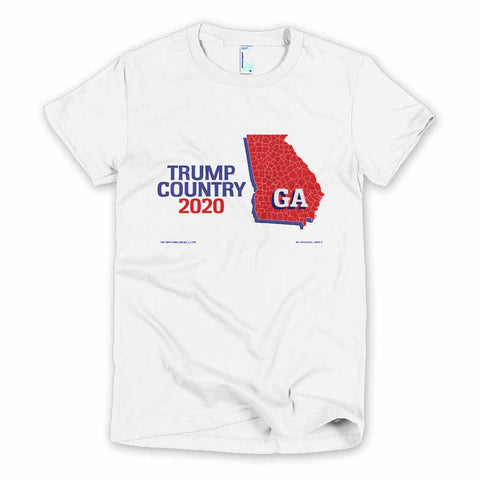 Georgia is Trump Country Women's Slim Fit T-shirt